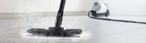 parní čistič na podlahy